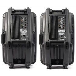 COPPIA CASSE AMPLIFICATE BI ATTIVE pro-series 1600W WOOFER 38 CM ART CP170316 - 4