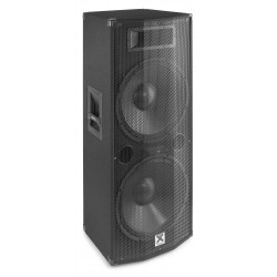 "CASSA AMPLIFICATA ATTIVA DJ 1200w 2x12"" BLUETOOTH DISPLAY TELECOMANDO"