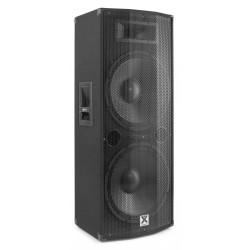 "CASSA AMPLIFICATA ATTIVA DJ 1200w 2x12"" BLUETOOTH DISPLAY TELECOMANDO - 4"