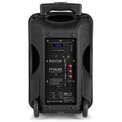 """CASSA AMPLIFICATA 450W 10"""" BLUETOOTH + BATTERIA + MICROFONO WIRELESS + USB - 3"""