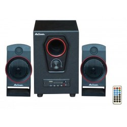 IMPIANTO HOME THEATRE 2.1 CINEMA STEREO BLUETOOTH CASA USB SD COMPUTER TV