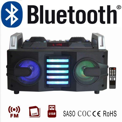 SISTEMA AUDIO ALL IN ONE STEREO CASA CASSE KARAOKE BLUETOOTH USB SD RADIO - 1