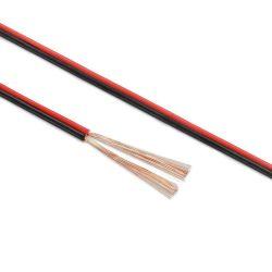MATASSA CAVO AUDIO PIATTINA 2 x 1,5 mm BOBINA RAME rosso nero CASSE ALTOPARLANTI