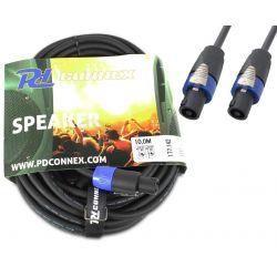CAVO SPEAKON SPINA MASCHIO / SPINA MASCHIO 10 METRI casse amplificatore - 1