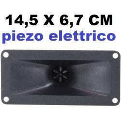 TROMBA PIEZOELETTRICO 150W ACUTI PIEZO ELETTRICI 14,5 cm X 6,7 cm