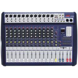 MIXER AUDIO STUDIO 12 CH. KARAOKE DJ STUDIO CON PROCESSORE EFFETTI DSP USB