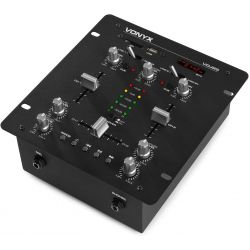MIXER AMPLIFICATO 2 CANALI DJ CON BLUETOOTH INTEGRATO PARTY LIVE