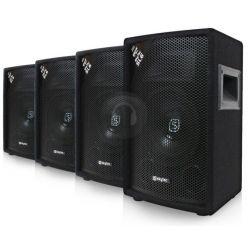 """SET AUDIO PASSIVO x installazioni 600W COMPOSTO DA 4 CASSE 6,5"""" art. 2cp178727 - 1"""