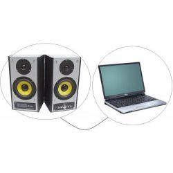 CAVO COMPUTER CASSE 3 mt. JACK 3,5 MM 2 SPINE RCA ART 104801 - 4